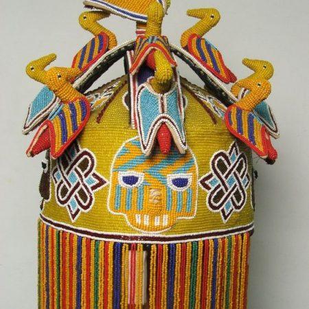 Yoruba-Art-Ade-Oba-Crown-of-a-Yoruba traditional-King-Ife-Osun