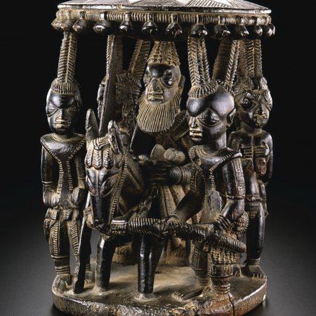 Yoruba-Art-African-Carousel-Carving