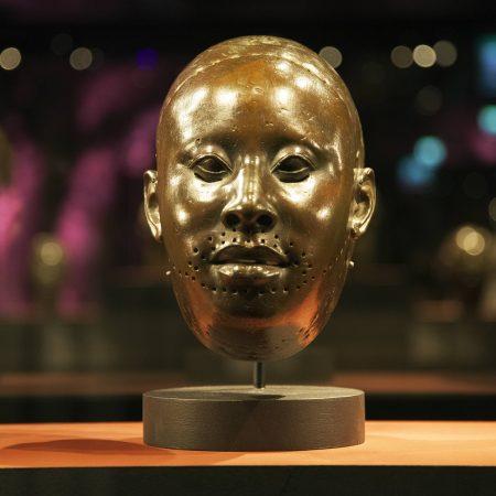 Yoruba-Art-brass-head