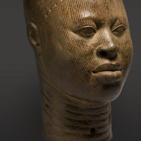 Yoruba-Art-female-stone-head