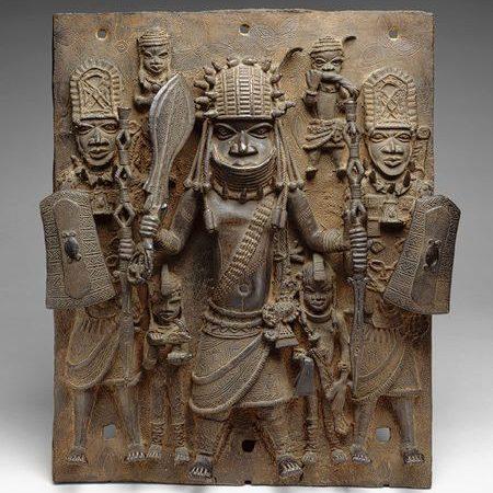 Yoruba-Art-warrior-wall-sculpture
